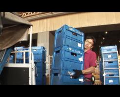 商品の配送業者